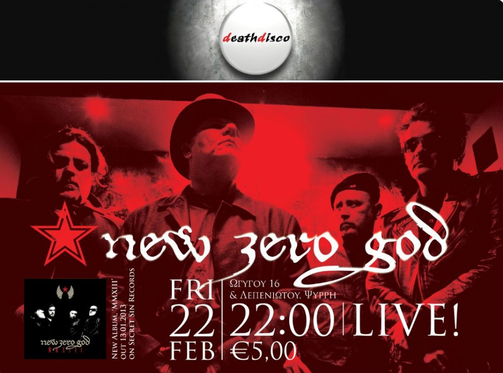 New Zero God - live @ Death Disco