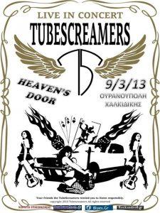 The Tubescreamers Band @ HEAVEN'S DOOR   Ουρανούπολη   Μακεδονία Θράκη   Ελλάδα