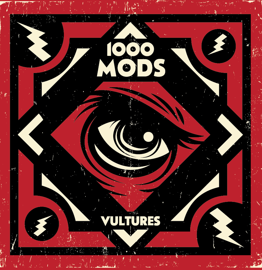 1000mods - Vultures - cover
