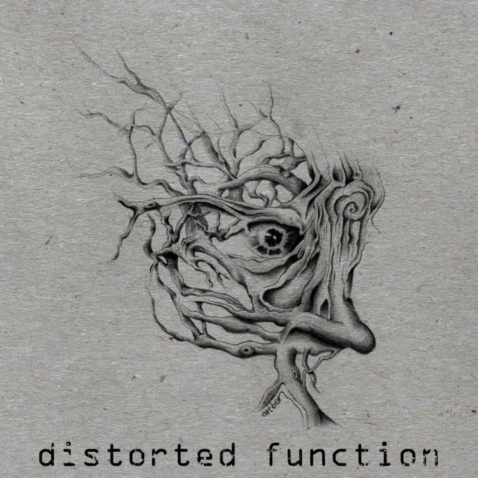 distorted function (logo)