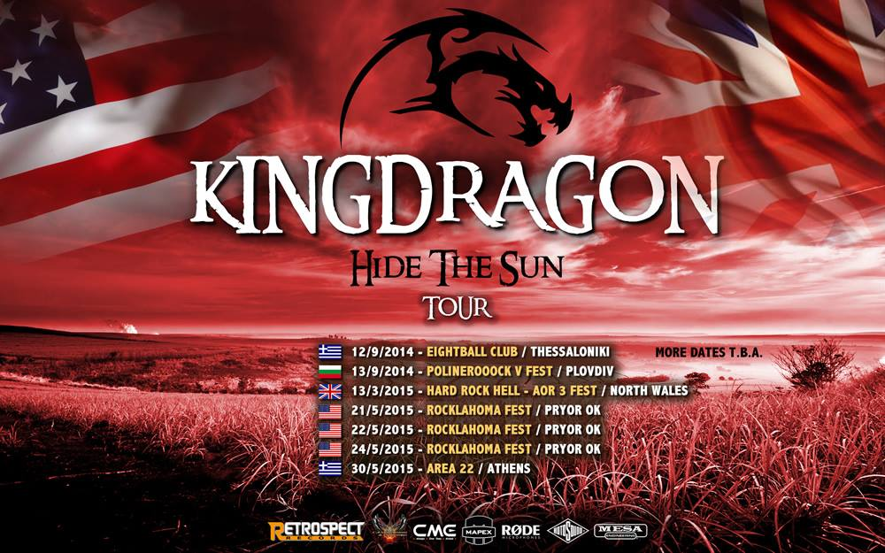 KingDragon Tour 2015