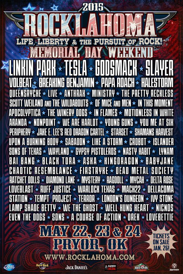 Rocklahoma Poster