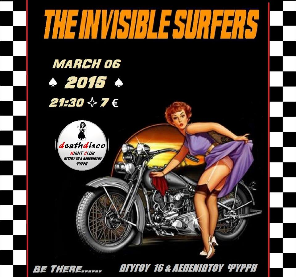 INVISIBLE SURFERS LIVE @ DEATH DISCO