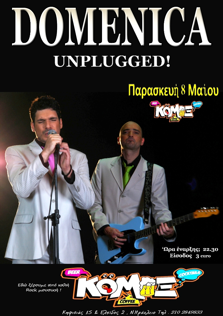 DOMENICA LIVE UNPLUGGED!