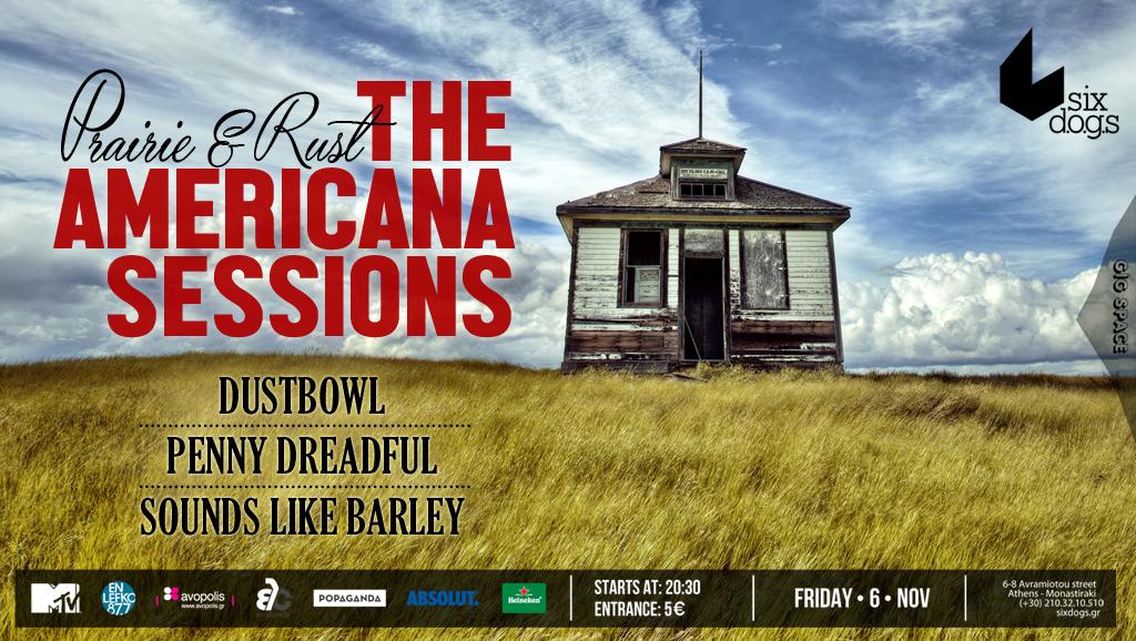 The Americana Sessions live @ Six D..O.G.S.