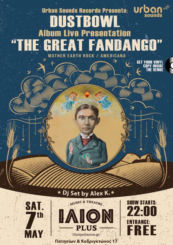 "The Great Fandango"" Presentation @ ΙΛΙΟΝ [Σαβ. 7/5]"