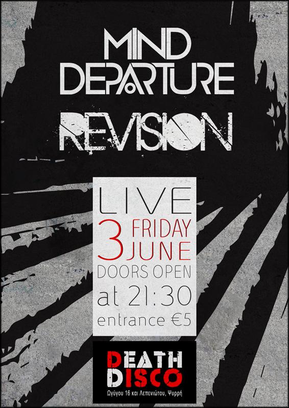 Mind Departure + Revision live @ Death Disco