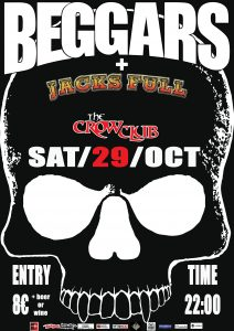 BEGGARS Live at the Crow Club