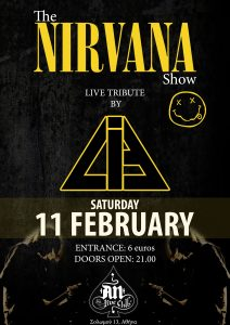 LiE - The Nirvana Show: A Live Tribute, 11th February, An Club!