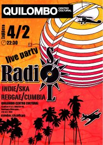 Οι RadioSol Live @Quilombo Centro Cultural