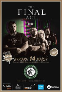 The Final Act / Mad Souls LIVE @Silver Dollar bar & stage (Θεσσαλονίκη)