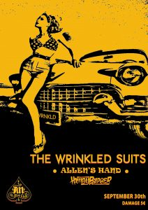 The Wrinkled Suits, Allen's Hand & HoneyBadger @ AN CLUB!