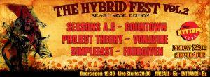 Μοντέρνοι metal ήχοι στο Hybrid Fest στις 29 Σεπτεμβρίου