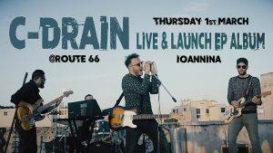 C-Drain Live & Παρουσίαση Δίσκου