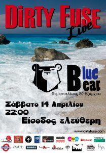 Dirty Fuse Live at Blue Bear
